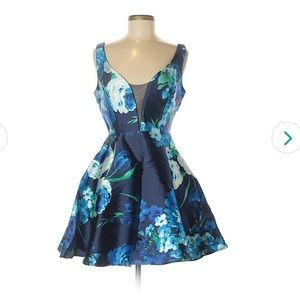 B Darlin Short Cocktail/Party Dress Size 5/6 HOCO